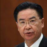 """O regime chinês quer fazer de Taiwan """"o próximo Hong Kong"""", denunciou o chanceler taiwanês"""
