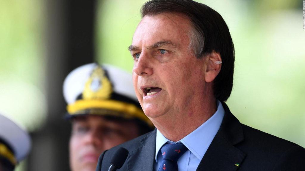 El presidente de Brasil, Jair Bolsonaro. (Imagen de archivo)