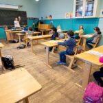 Sin mascarillas ni distanciamiento en las escuelas: Dinamarca se acerca a la normalidad