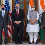 Estados Unidos e India fortalecen alianza contra el régimen chino