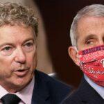 """""""Nos mantendrá enmascarados hasta el final de los tiempos"""": Rand Paul vs. Fauci"""
