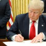 EXTRAÑO: otra ORDEN EJECUTIVA firmada por Trump en su «ÚLTIMO DÍA» de mandato