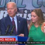 La EXTRAÑA descripción que hizo Biden de su NIETA de 12 años en una convención demócrata