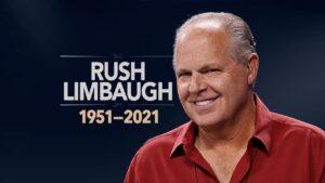 El creador del término feminazi: RIP Rush Limbaugh