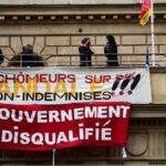 Manifestantes ocupan el teatro de París exigiendo la reapertura de los espacios culturales en medio de protestas por toda Francia