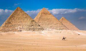 Las pirámides, ¿fueron construidas por gigantes?