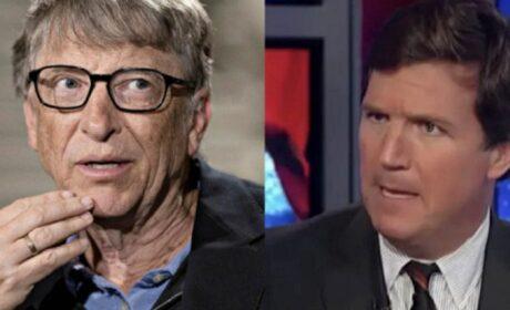 Bill Gates tiene un nuevo y espeluznante proyecto y Tucker Carlson lo denuncia antes de que vaya demasiado lejos