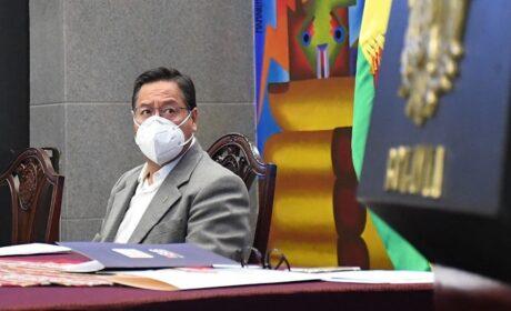 Arce demuestra su incapacidad para encarar la crisis de la pandemia en Bolivia