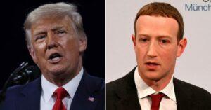 Facebook decidirá el miércoles si Trump puede regresar a la plataforma