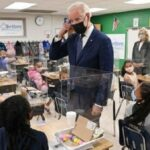 Estudiantes de quinto grado le dicen a Biden que el aprendizaje virtual fue 'terrible' y fue bueno para tomar siestas