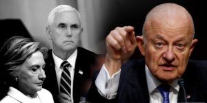 Clinton, Pence y otros habrían conspirado para destituir a Trump, revela ex director de inteligencia (VIDEO)