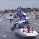 El Grandioso desfile de barcos de Trump en honor al Día de los Caídos