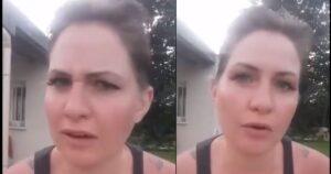 «Dejo mi uniforme»: el vídeo viral de una enfermera que no se quiere vacunar