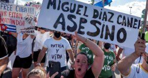 Régimen cubano recluta a menores de edad para reprimir a manifestantes
