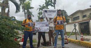 Histórico: Venezolanos en Caracas lograron manifestarse en la Embajada de Cuba contra el comunismo