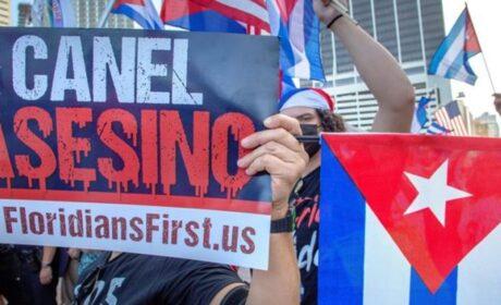 Exiliados en EEUU exigieron libertad para Cuba, Nicaragua y Venezuela