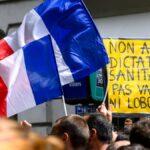 Más de 70 personas detenidas en las protestas contra la vacunación obligatoria en Francia
