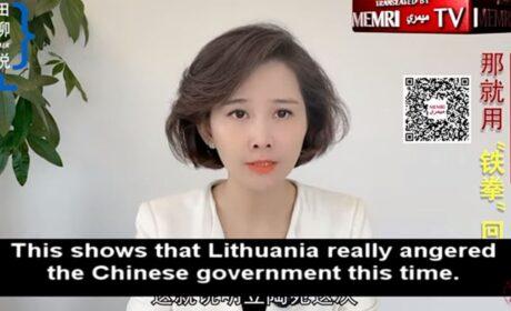 """Reportera china exige """"puño de hierro"""" contra los """"países arrogantes"""" que desafían al régimen comunista chino"""