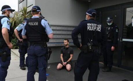 Australia: Manifestantes chocan con la policía en nuevas protestas antibloqueo