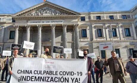 """""""El régimen chino debe pagar la factura del coronavirus"""", dicen víctimas y afectados en España"""