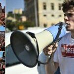Italia explota en protestas contra el pasaportes verde